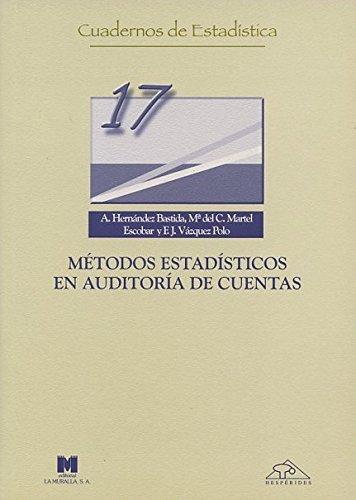 Métodos estadísticos en auditoría de cuentas (Cuadernos de estadística)