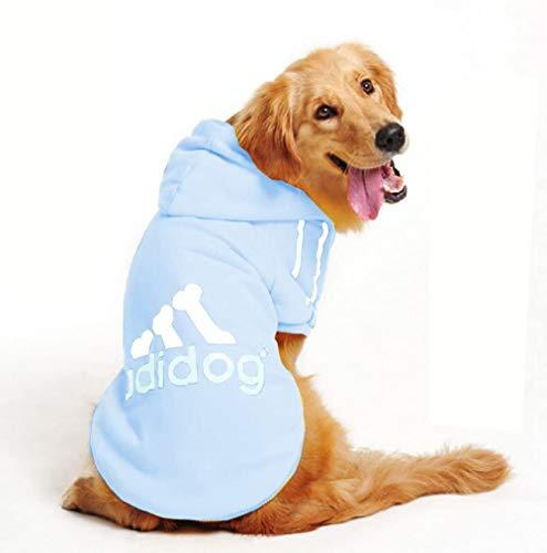 Inception Pro Infinite Sweatshirt mit Kapuze für Hunde – T-Shirt – Farbe Hellblau – Adidog – Hund und Katze