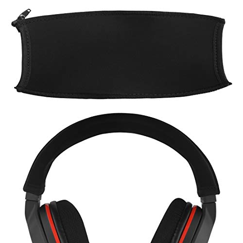 Geekria - Funda para diadema compatible con Turtle Beach Elite Pro, Ear Force Stealth 600, Stealth 700, Recon 320, X12, XO SEVEN, XP500, Ear Force PX24