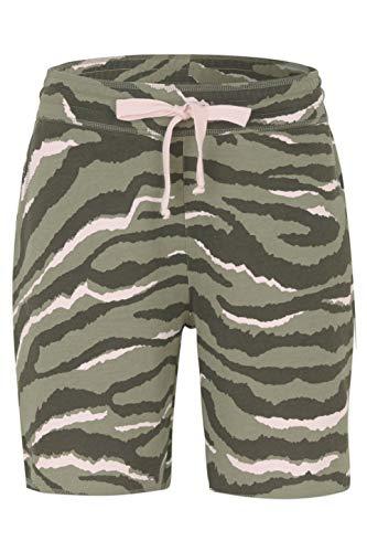Juvia Damen Shorts Zebra Olive - XS