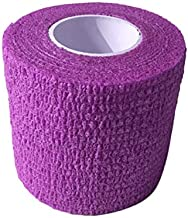 Majoxin Disposable Tattoo Grip Cover Wrap Self Adhesive Elastic Bandage for Tattoo Machine Handle Tattoo Accessories