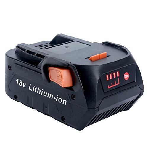 Epowon 18 Volt 5.0Ah Lithium Ion Compact Battery for RIDGID 18V Drill R840087 R840083 R840084 R840086 AC840085 AC840087P