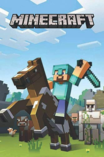Minecraft Notebook: Ruled notebook, Journal, Player's notebook, For kids, Ruled Pages