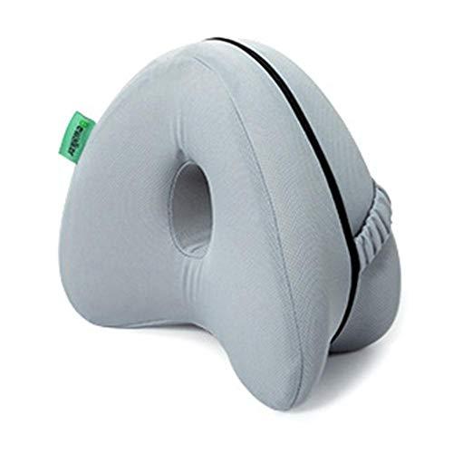 Kniekissen für Seitenschläfer, Leg Pillow, Ergonomisches Memory Foam Beinkissen, Kissen für Seitenschläfer für Optimalen Liegekomfort, Hüfte, Bein, Knie, Rücken und Schwangerschaft