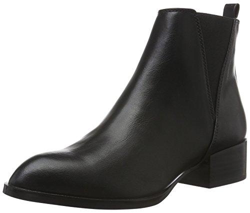 Buffalo Shoes Damen B104A-49 P1735A PU Chelsea Boots, Schwarz (Black 01), 38 EU