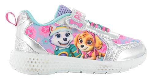 Zapatillas Deportivas para niñas de la Patrulla Canina Azuma, Tallas del Reino Unido 5-10, Color Rosa, Talla 38 EU