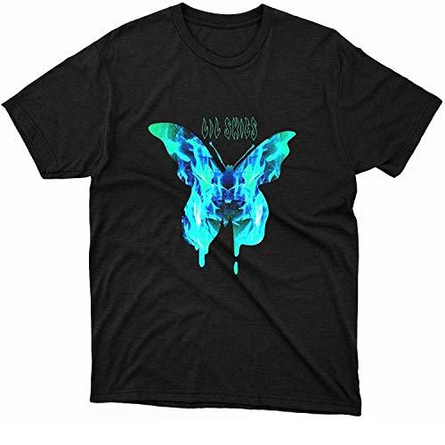 Lil Skies Merch Lil Skies Big Butterfly T Shirt, Hoodie, Sweater, Long Sleeve, Sweatshirt Black DMN t-Shirt, Hoodie