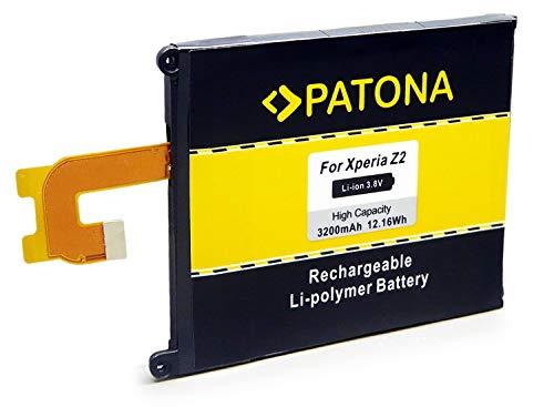 PATONA Bateria LIS1543ERPC Compatible con Sony Ericsson Xperia D6502 D6503 D6543 L50W