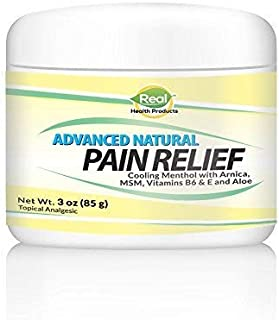 Advanced Pain Relief Cream for Muscles - Helps Relieve Back Pain, Pinched Nerve Pain, Neuropathy Cream for Feet, Hands and Legs & Joint Discomfort.Joints. Highly Absorbable and Naturally Soothing. 3Oz