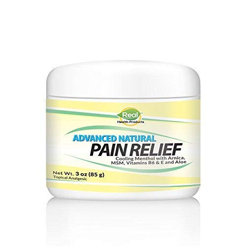 Pain Relief Cream with Arnica. Fast Acting Relief for Muscle Aches, Joint Pain, Pain in Feet, Hands and Legs & Arthritis. Fast Absorbtion and Naturally Soothing. 3Oz