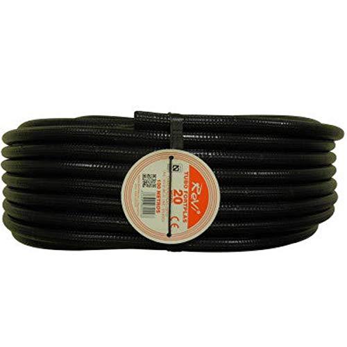 Tubo corrugado 20mm 100m【IGNIFUGO】No propagador de llamas • Tubos corrugados flexibles para cables electricidad • 100 metros • PVC de Calidad