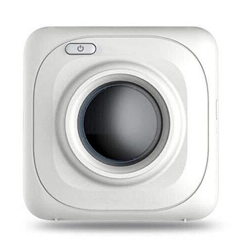 HZJ Fotoprinter, draagbare Bluetooth Photo Thermal Print, telefoon Photo Wireless Connection HD etikettenprinter 200dpi 1000mAh