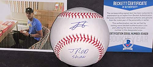 Julio Rodriguez Seattle Mariners BECKETT ROOKIE COA Autographed Signed Official Major League Baseball JROD SHOW