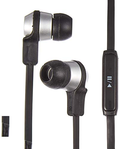 Cowon EM1 Noise Isolating Earphones with Remote/Microphone and Tangle Free Cables