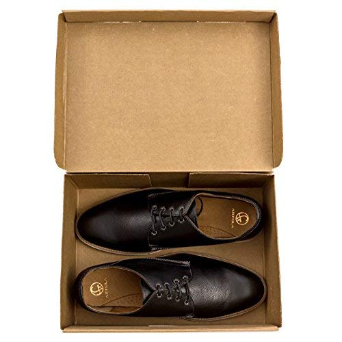 """SHOE BOXES - 10 PACK - 12.5"""" x 9"""" x 5"""", HEAVY DUTY One-Piece Design With Lid"""