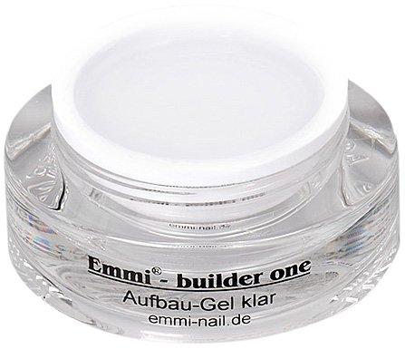 Emmi-Nail Studioline Aufbau-Gel Kombi klar: Klares UV-Gel für eine stabile Nagelmodellage, hochviskos und -deckend, schützt vor Liftings und Hitze, 15 ml