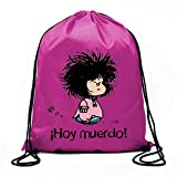 Bolsa de cuerdas Mafalda ¡Hoy muerdo! (BOLSAS)