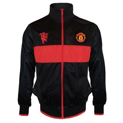 Manchester United Football Club Soccer Gift Boys Retro Track Jacket 10-11 Yrs LB