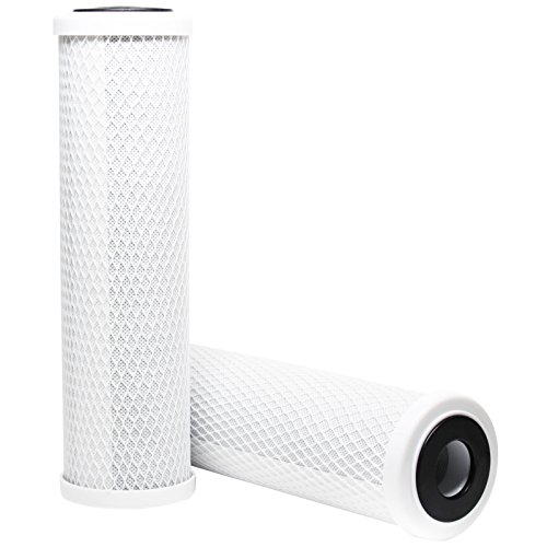 Replacement Watts CT-1 Activated Carbon Block Filter - Universal 10 inch Filter for WATTS PREMIER 500315 CT-1 DRINKING WATER SYSTEM - Denali Pure Brand by Denali Pure