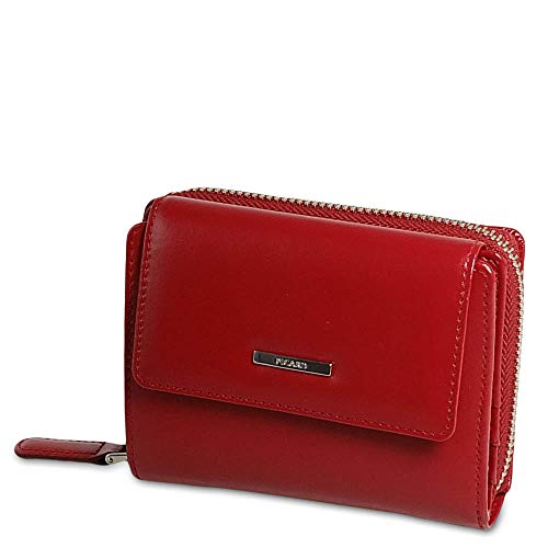 Picard, Damen Portemonnaie, aus Leder, in der Farbe Dunkelrot, aus der Serie Offenbach, 464201E087