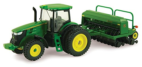 ERTL John Deere 7215R Tractor with Grain Drill