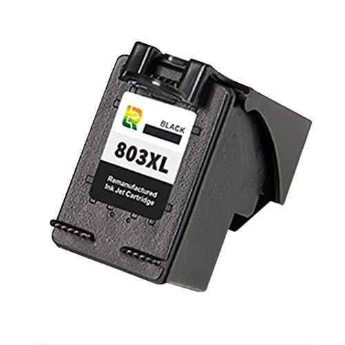Cartuchos de tinta 803xl, reemplazo de alto rendimiento para HP DeskJet 1112 1111 2131 2623 2628 Cartucho de impresora de inyección de tinta compatible con negro y c Black~1