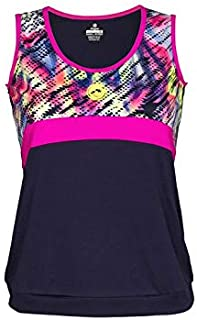 Camiseta de Tirantes Mujer Pádel J´HAYBER Print Blue-Pink. DS3196 ...