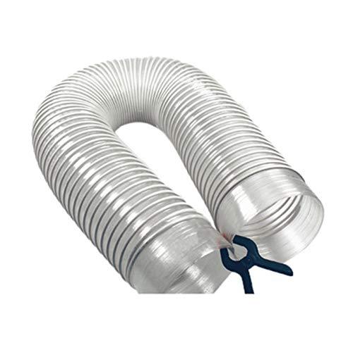 ZRNG 1M Diámetro interior 32/40/50/55 / 60mm OEM Limpiador de aspiradora industrial OEM Strays Hilo Tubo de hilo Tubo suave Ajuste durable for ciclón SN50T3 La instalación es simple y fácil de usar.