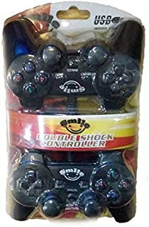 Twin Double Shock Gamepad USB Controller