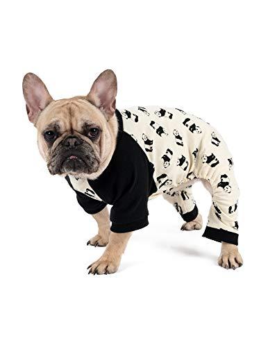 Leveret Passender Hunde-Pyjama, Weihnachts-Pyjama, 100 % Baumwolle, Größe XL