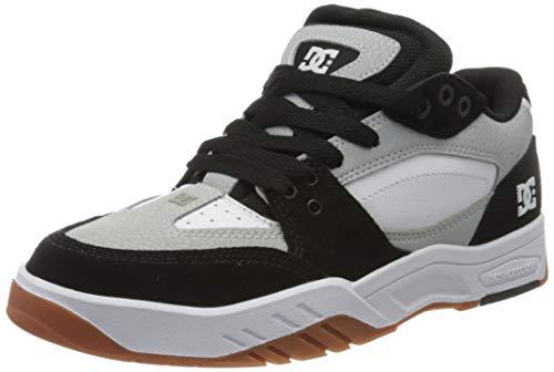 DC Shoes Maswell, Scarpe da Skateboard Uomo, Rosso (Grey/Black/White Xskw), 42 EU