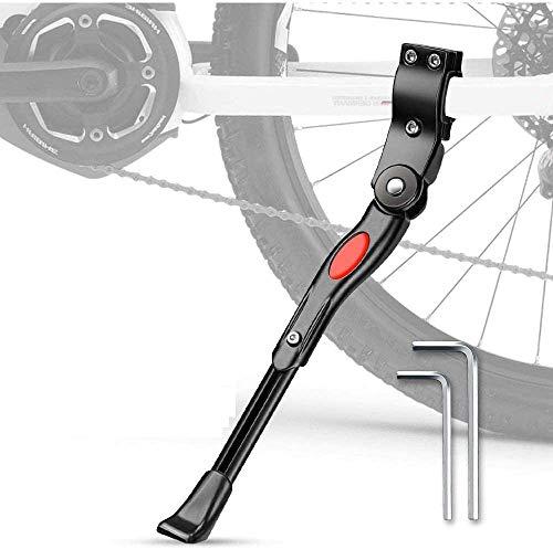 SLKIJDHFB Caballete Bicicleta Ajustable de Aluminio Bike Stand Pata de Cabra Bicicleta - Se Adapta a 24'-28' MTB Montaña, Carretera, Híbrido, Bicicletas Plegables