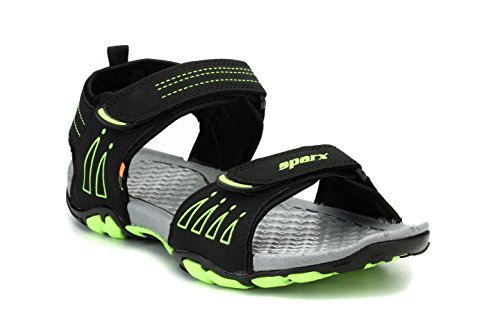 Sparx Men's BKGR Sandals-10 UK/India (44.67 EU) (SS0805G)