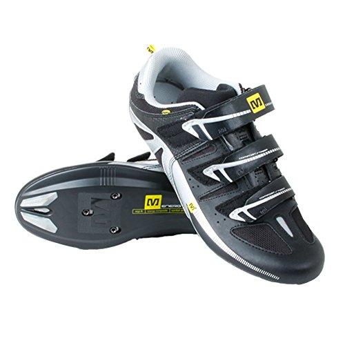 MAVIC Peloton - Scarpe da bici da corsa, taglia 40, colore: Nero