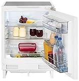 Unterbau Kühlschrank Gefrierfach LED-Licht Breite 54,3 cm weiß 131 Liter