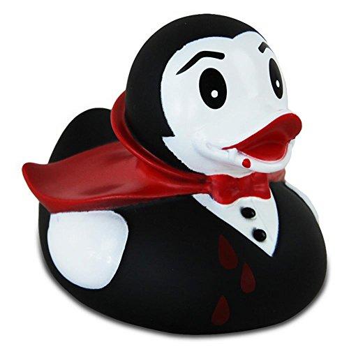 Lilalu Badeente Gummiente Schwimmente Sammeln Ente Halloween Superheld Krone: Art: Dracula Ente
