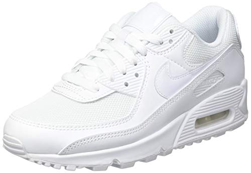 Nike Air MAX 90 Twist Women's Shoe, Zapatillas para Correr Mujer, Blanco, 39 EU
