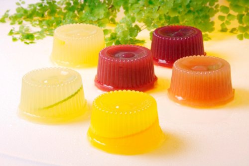 JAL国際線で6年連続デザートに採用!!無添加!海洋深層水ゼリー「土佐の日曜市」12個入り
