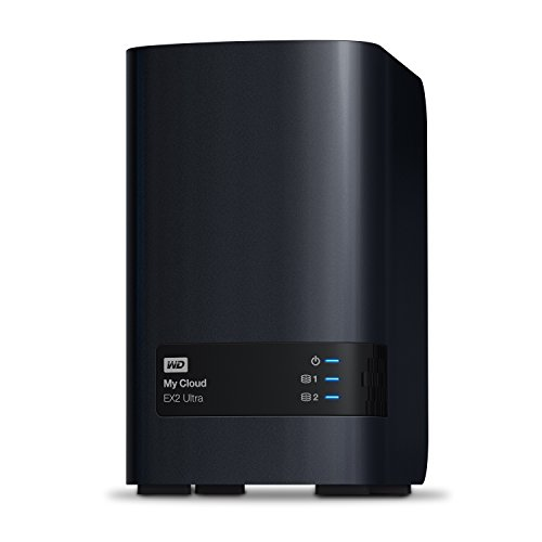 WD 16TB My Cloud EX2 Ultra Almacenamient...