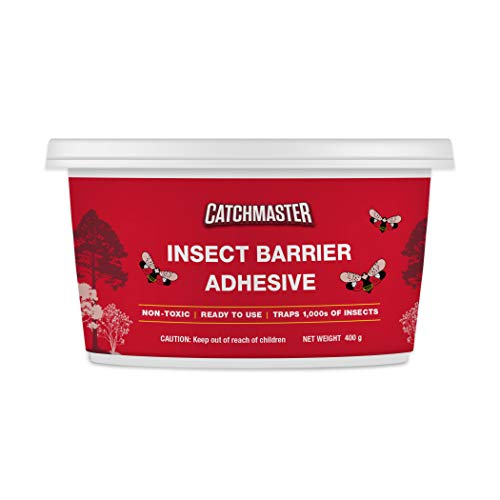 Catchmaster Tree Banding DIY Insect Adhesive Barrier Kit with Glue Spreader - Protective Sticky Glue Trap - 15oz