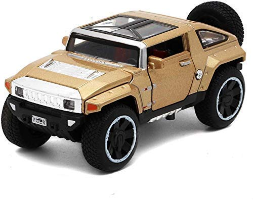 Modelo de coche modelo de coche Hummer HX Concept-o-terreno 1:32 modelo de coche Colección decoración campo a través de la simulación de aleación modelo de coche 1.5x6x5CM modelo de coche de vacacione