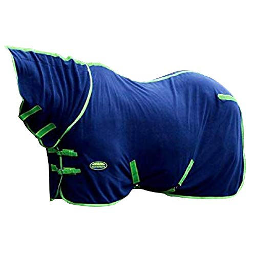 Weatherbeeta Fleece-Decke mit Nackenschutz, Standardgröße -  Blau -