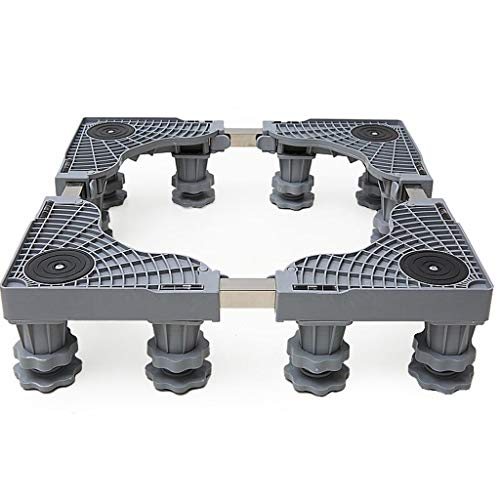Multifuncional móvil Basen Base para electrodomésticos: base ajustable Rueda con ruedas para ruedas para lavarropas y frigoríficos Secadoras de tambor - 4 pies, 4 ruedas 4 ruedas ( Color : 4Foot )
