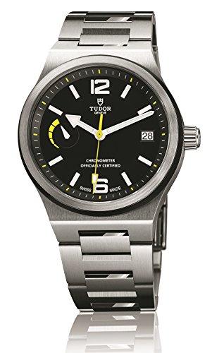 Tudor del Nord bandiera orologio da uomo 91210N-bkss