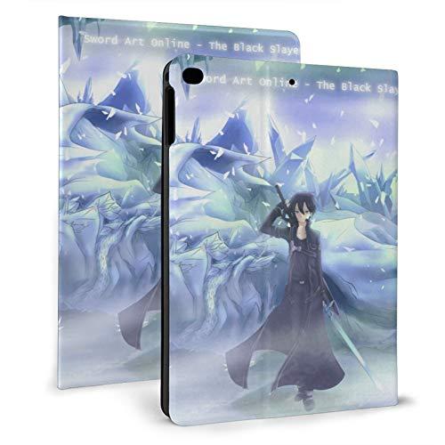 Sword Art Online Anime iPad Case Auto Wake/Sleep, Suitable for iPad mini4/5 7.9', iPad air1/2 9.7