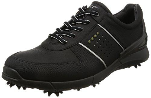 Ecco Ecco Men?s Base One Golf Shoes, Schwarz (1001BLACK), 6UK, (EU 39)