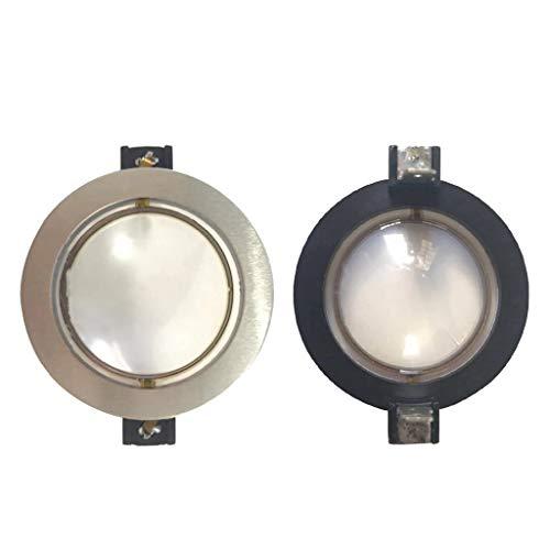 LEXIANG 2 Piezas de diafragma de Repuesto para RCF ND1411, para RCF ND1410, para RCF CD1411 Bobina de Voz de diafragma de 8 ohmios 35,5 mm