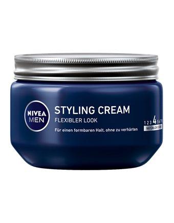Nivea Haargel Styling Cream Men 150ml, 2er Pack (2 x 150 ml)