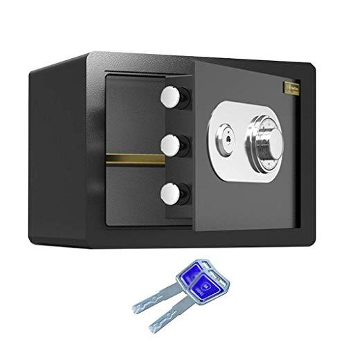 HCYY Cajas Fuertes de Seguridad Cajas Fuertes de Seguridad, Caja de Seguridad con contraseña mecánica Totalmente de Acero para Uso en la Oficina o el hogar, Caja de depósito de gabinete montada e