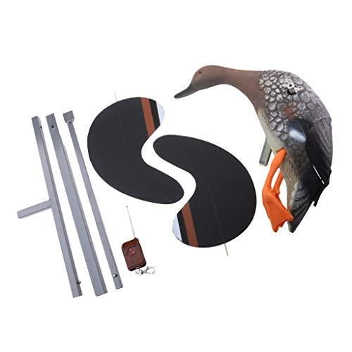 Sharplace Leurre de Chasse Sculptures Canard Animaux Électrique avec Télécommande, Ornement de Pelouse - Canard Femme